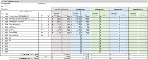 Grille Tarifaire Fonction Publique by Mod 232 Les Gratuits De Gestion De Construction Pour Excel