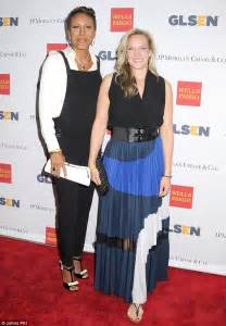 Robin Roberts and girlfriend Amber Laign make rare appearance together at GLSEN Respect Awards