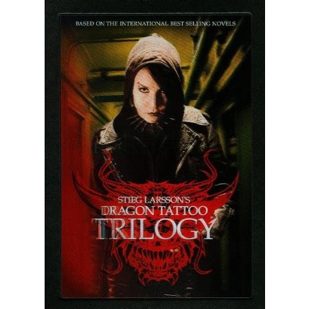 dragon tattoo trilogy stieg larsson s dragon tattoo trilogy 4 discs dvd video