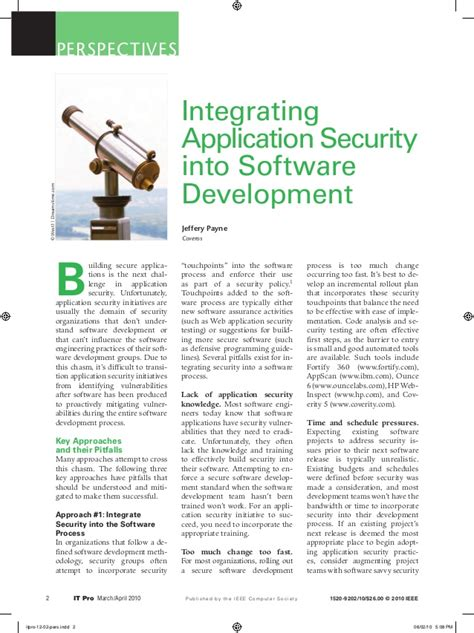 transitioning into professional software development from the perspective of application developer books integrating app security into software development