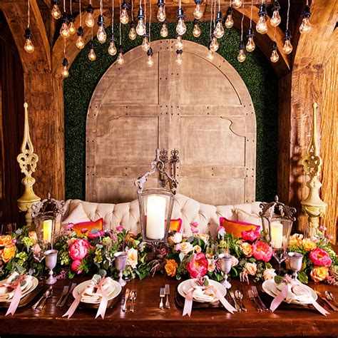 decor rapunzel disney tangled inspired reception disney weddings