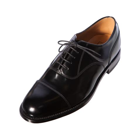 Handcrafted Leather Shoes - loake 200b mens gents oxford handcrafted black leather