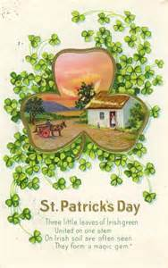 vintage st s day card american