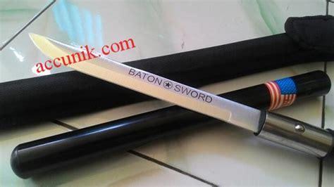 Harga Katana Mini termurah pedang baton pendek 55 cm katana mini jual