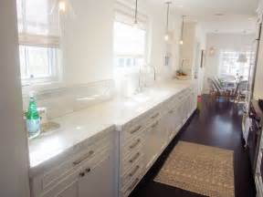 Galley Kitchen White Cabinets Cococozy Cococozy Exclusive A Chic Galley Kitchen