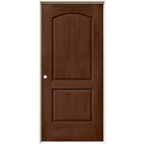 Prehung Interior Doors Home Depot jeld wen 36 in x 80 in continental milk chocolate stain