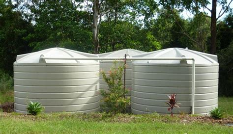 5000 Square Foot House fit a rain water tank to your home and start saving water