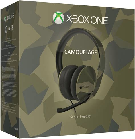 Special Headset Smartfren Stereo xbox one special edition camouflage stereo headset accessories zavvi