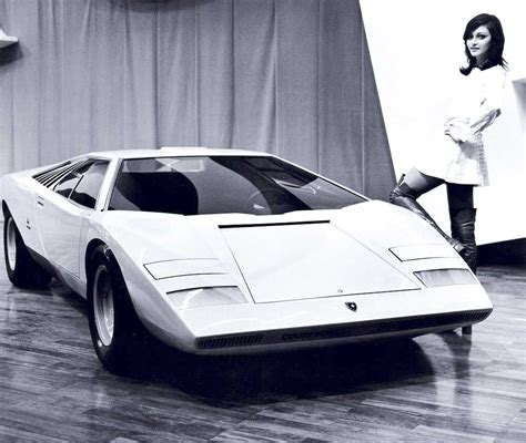 First Lamborghini Countach by History Of The Lamborghini Countach