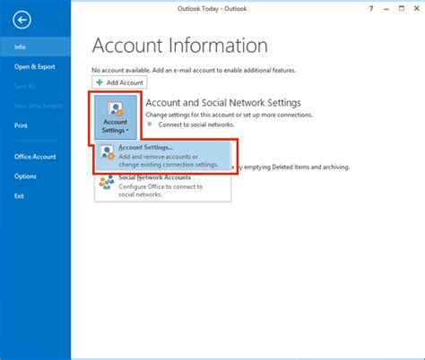 how to add email account to outlook 2013 add your account log in to outlook 2013