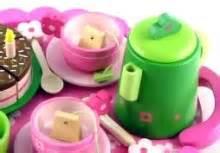 djeco wooden birthday tea party set djeco birthday party tea set pink at my wooden toys