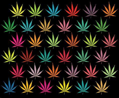 whatsapp wallpaper weed cannabis leaf multi coloured pattern digital art by image zone