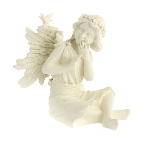 angel home decor angel star quot joy quot inspiration fairyfigurine table and