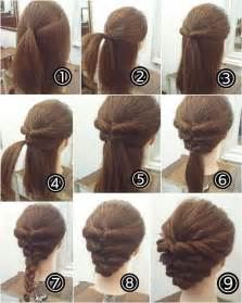 25 best ideas about easy casual updo on