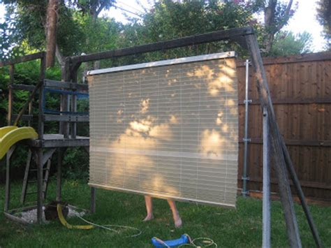 swing blind frugal home ideas spray painting blinds