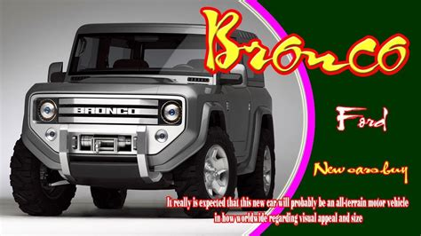 2020 Ford Bronco 4 Door Price by 2020 Ford Bronco 2020 Ford Bronco 4 Door 2020 Ford