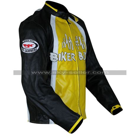 yellow motorcycle jacket biker boyz derek luke yellow motorcycle leather jacket
