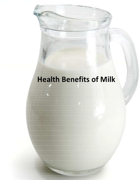 Milk For Health And by Health Benefits Of Milk