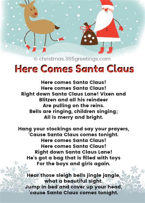 christmas songs  kids  preschoolers  lyrics christmas celebration