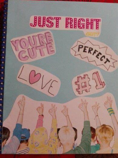 Got7 Notebook Sailor Ver Kpop Notebook decorar cuaderno kpop got7 cuadernos