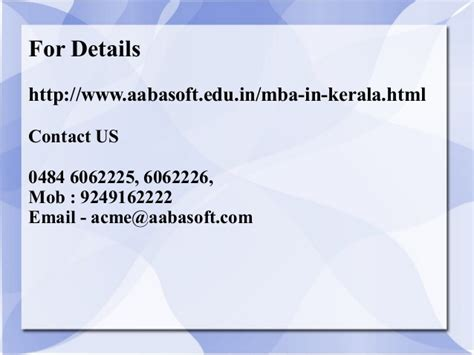 Mba Faculty In Kerala distance education mba in kerala through sikkim manipal