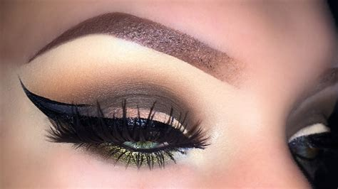 eyeshadow tutorial using w7 sexy fall smoky eyes with ombre eyeliner fall 2015 makeup