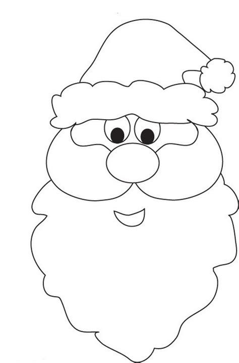Santa Claus Head Coloring Pages Gt Gt Disney Coloring Pages Santa Clause Coloring Page