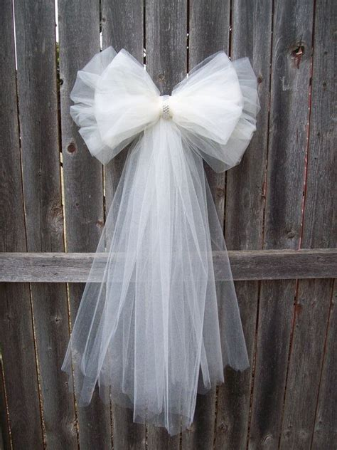 pew bows tulle pew bow 20 colors tulle church pew decor tulle pew bow quinceanera decorations
