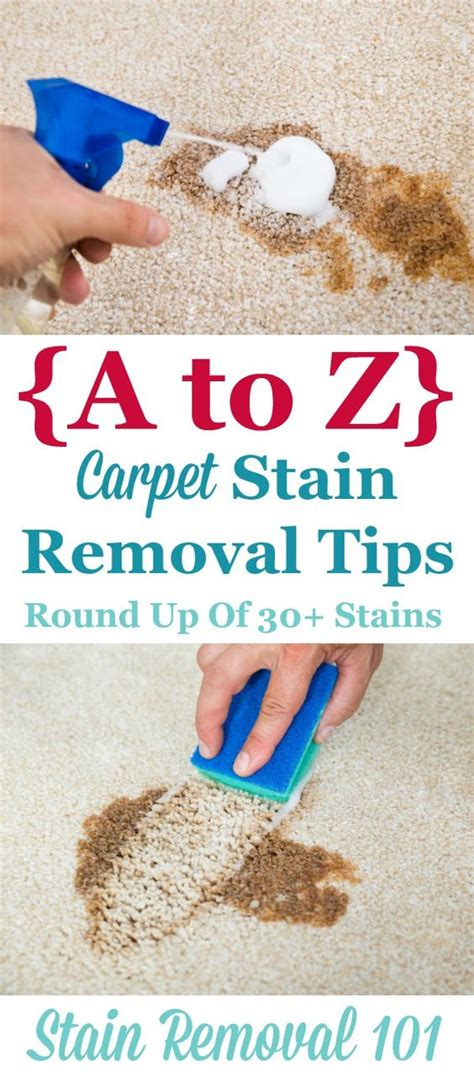 9 Tips To Help You Conquer Stains by A Z Carpet Stain Removal Tips Carpets Stains And No