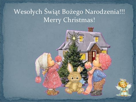 polish merry christmas festival collections