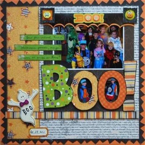 scrapbook layout ideas for halloween halloween scrapbook ideas scrapbooking pinterest