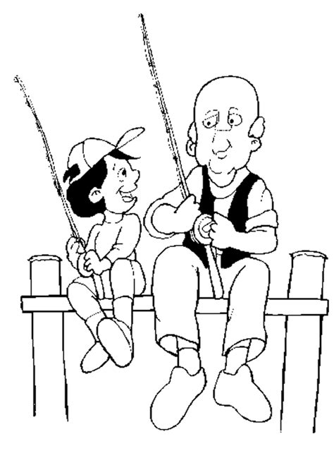 fishing coloring 8 free coloring page site az coloring