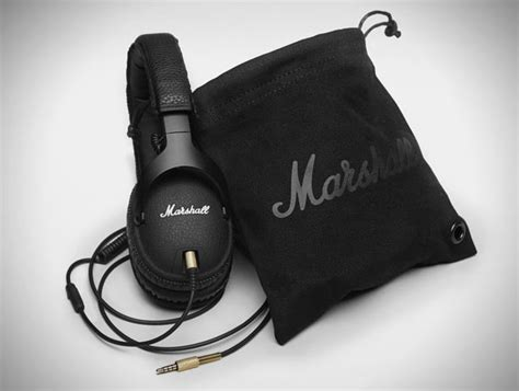 Headset Marshall marshall monitor headphones hiconsumption