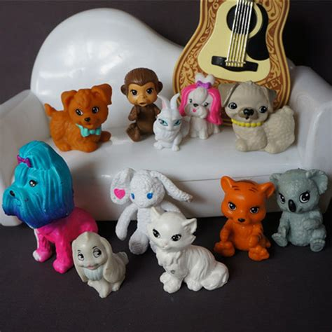 Home Decor Home Based Business genuine plastic dog cat monkey pet for barbie and monster