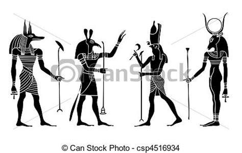 imagenes egipcias anubis eps vector de dioses diosa vector egipcio vario