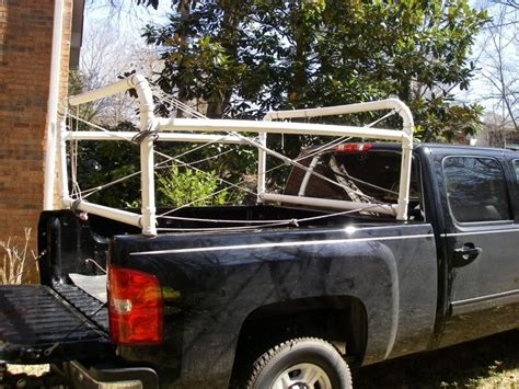 kayak rack for truck bed 30 best images about pvc tent rack storage on pinterest