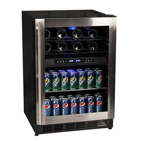 magic chef wine cooler magic chef dual zone wine and beverage cooler