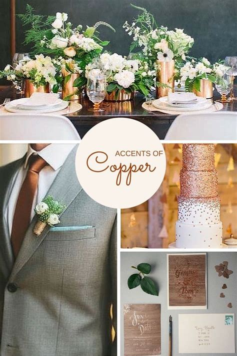 copper decor accents best 25 2016 wedding trends ideas on pinterest spring