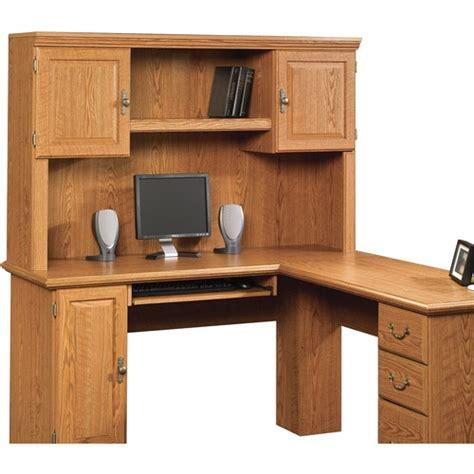 sauder orchard hills corner computer desk 119 00 sauder orchard hills hutch for corner computer