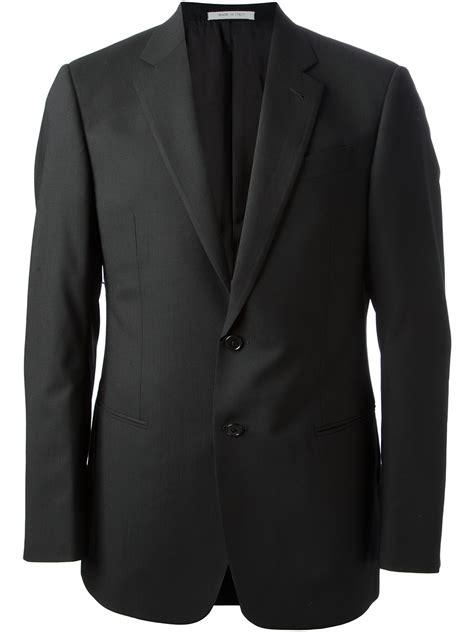 Armanie Classic 3 armani classic three suit in black for lyst