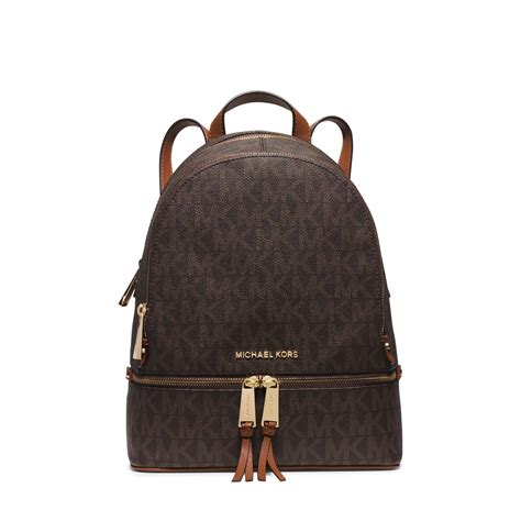 Tas Ransel Michael Kors Mk Rhea Mini Backpack Original michael kors rhea small backpack in brown lyst