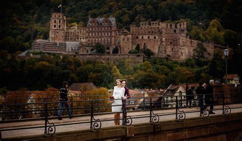 Bewerbung Psychologiestudium Heidelberg Hochzeitsfotograf Fischer Auf Dem Heidelberger Schloss Und An Der Alten Br 252 Cke Fotostudio