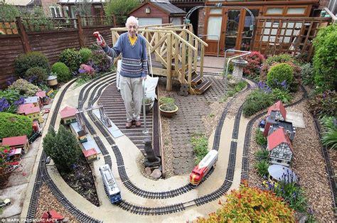Thomas The Train Bedroom Set devon couple s model railways took 10 years to build