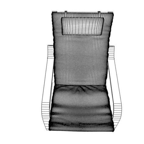 Poang Armchair Review by 3d Model Poang Armchair Chair