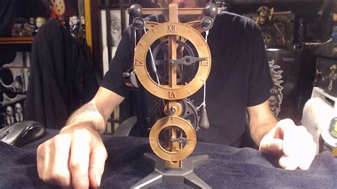 davinci model clock youtube