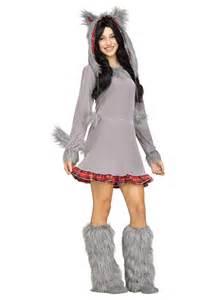 wolf halloween costume for girls wolf cub teen girls costume animal costumes