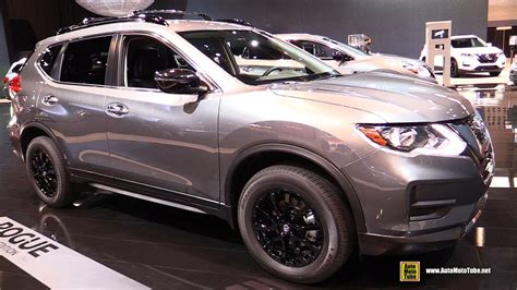 nissan rogue midnight edition 2017 nissan rogue midnight edition exterior and interior