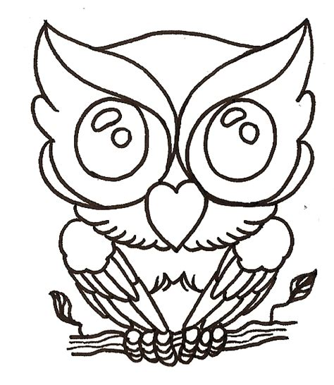 Owl Outlines Drawings by Baby Owl By Mahakalicreation On Deviantart