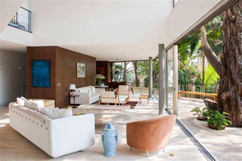 home design inside and outside maison ouverte sur la nature