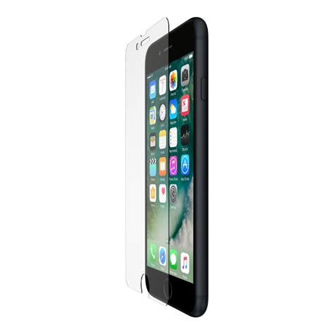 belkin screenforce tempered glass screen protector for iphone 8 plus 7 plus